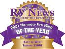 RV News 2021 Mid-Priced Fifth Wheel of the Year - Tandara 320RL